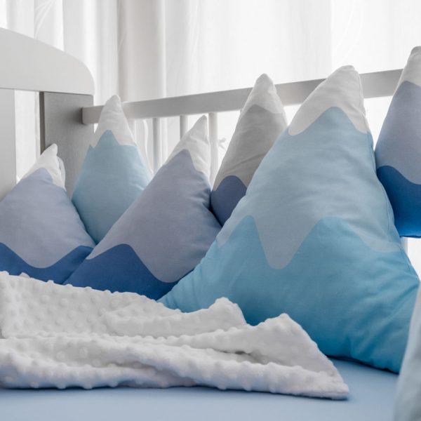 4D Jastuk ogradica Planine nema zime KODA3057 babysleepigloo.hr