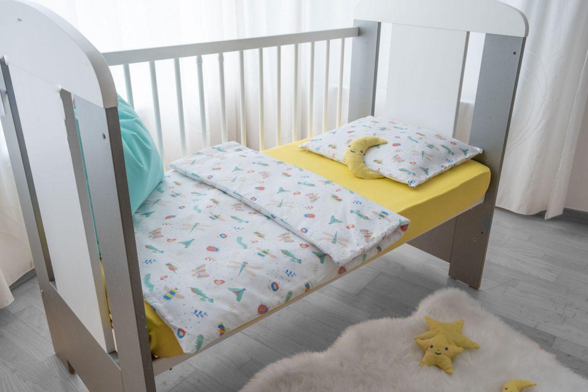 Posteljina leprsave bubice KODA3701 babysleepigloo.hr