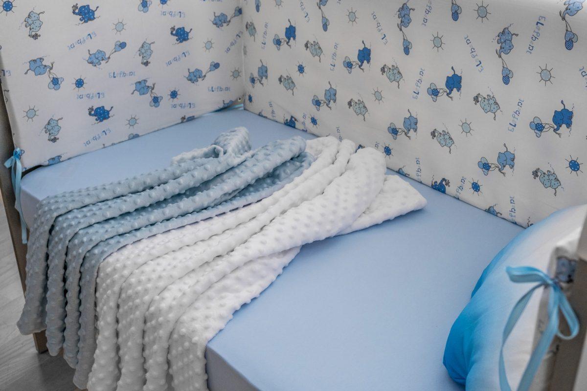 dekica plavi i bijeli minky KODA3530 dekica 3 u 1 minky babysleepigloo.hr 47RED